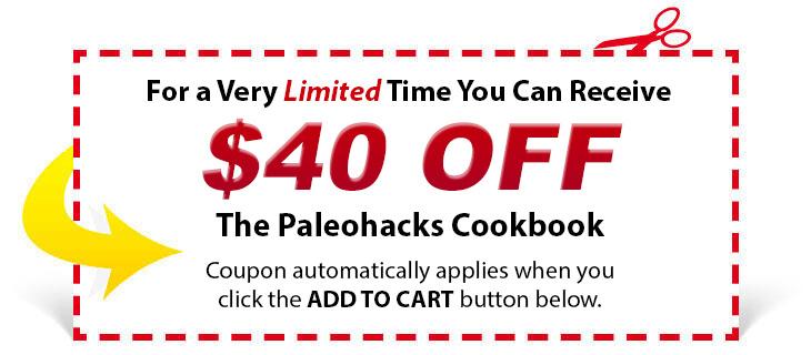 coupon 40 cb - Paleohacks Cookbooks