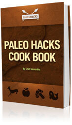 Paleo diet recipes. Cook book and guide